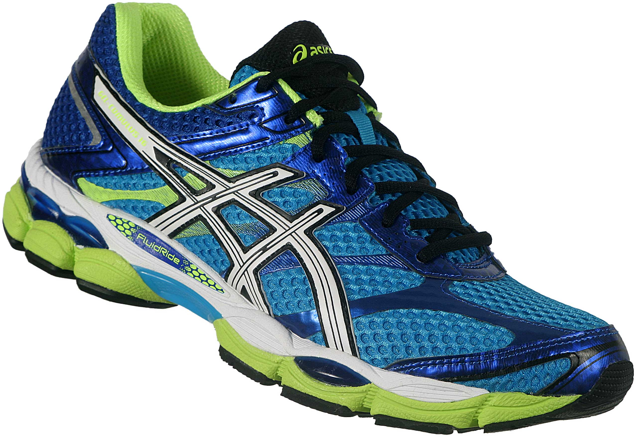 ASICS GEL CUMULUS 16 Running Shoes SS15 Mens Blue – Recreate